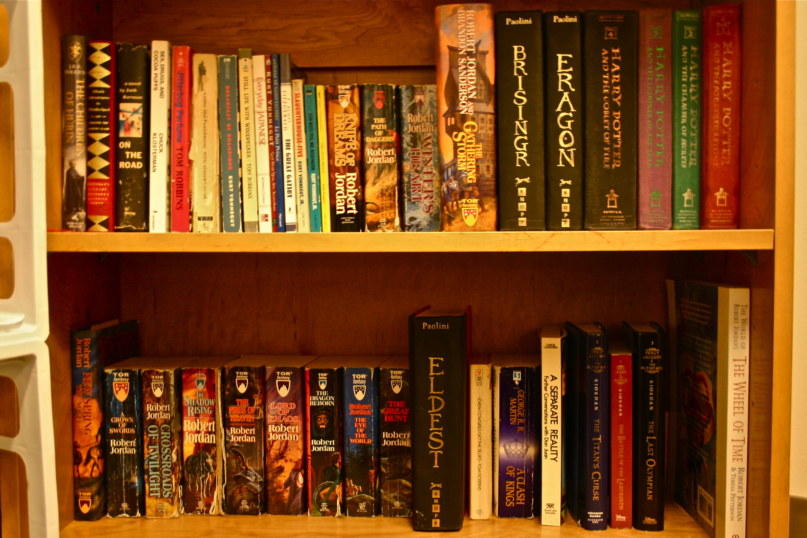 My Tiny Dorm Room Bookshelf Lack Of Sufficient Space Greatly Hindered Me From Bringing Entire Book Collection To School With But I Tried Take