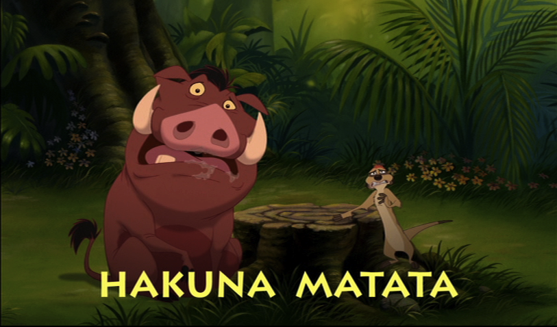 The Dark Side Of Hakuna Matata Anna Lyzing